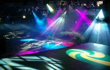 With our advanced Intelligent Lighting we can turn you Wedding into a Night Club.
