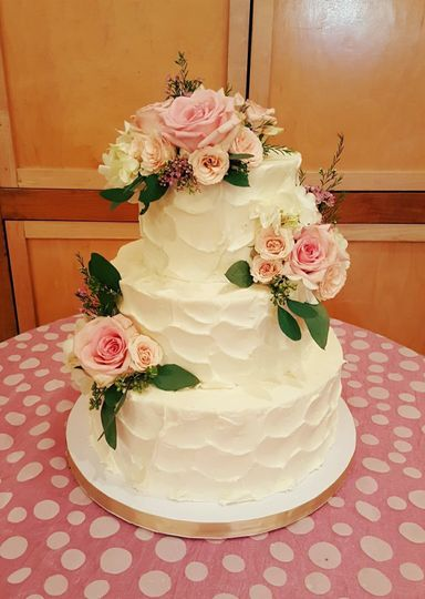 Creative Cake Design by Tammy Hodge - Wedding Cake - Wilmington, NC ...