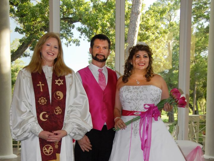 Tmx 1496018809172 Esmeralda And Charles Schiff 07202013 Spring, Texas wedding officiant