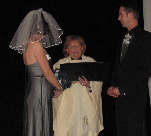 Officiating the Wasmuth's wedding 11/12/11 in Boulder, CO