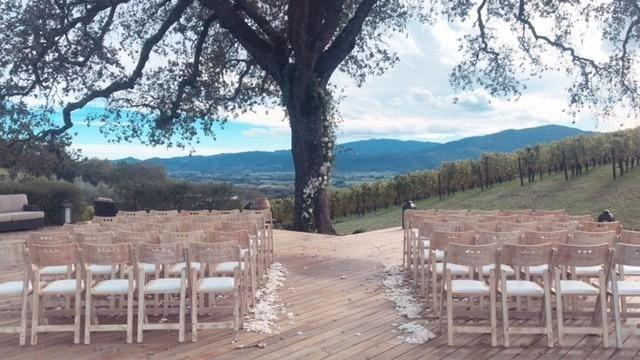 Ceremony in the Vineyards