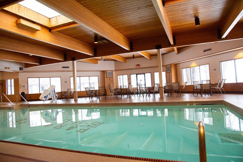 Indoor swimming pool & spa