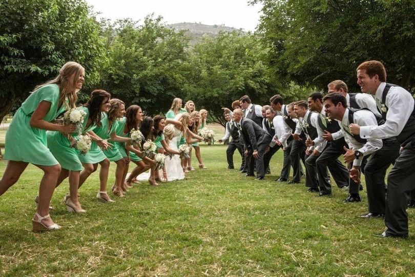 bridal party c