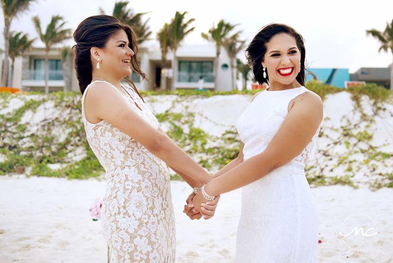 LGBT Destination Wedding at Andaz Mayakoba