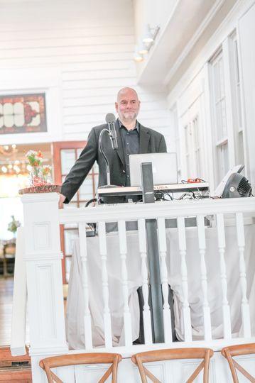 DJ Doug Gazlay at a wedding