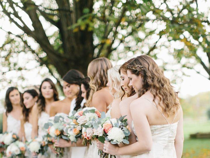 Tmx Fall Wedding Floral Print Bridesmaid Dresses Peach And Blush Bouquets 51 430694 157589587016118 Poughquag wedding florist