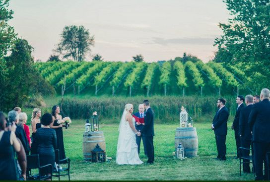 Wedding at the winery