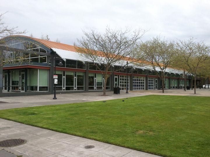 Exterior view of Renton Pavilion Event Center