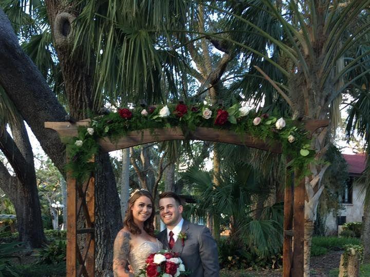 Tmx 1528383769 1f73cfce703f2c7b 1528383768 A735f3d850a0a5c9 1528383764657 10 Wooden Arch Oak T Daytona Beach, FL wedding planner