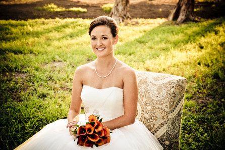 coquina beach bridal portrait