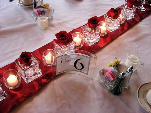 kemolls red rose candles