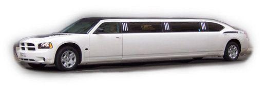 8-10 passenger Charger Limousine