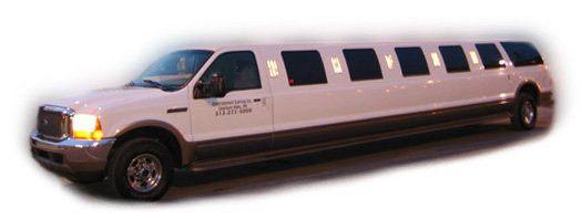 18-20 passenger Ford Excursion Limousine