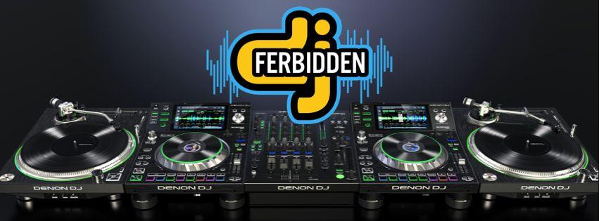 DJ Ferbidden Denon Gear