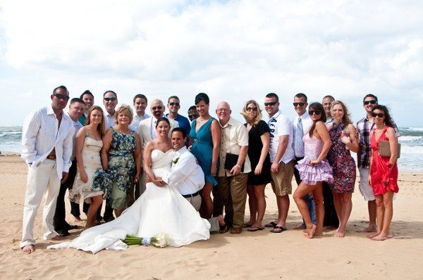 Complete with several guests that came from all over North America this wedding included a social...