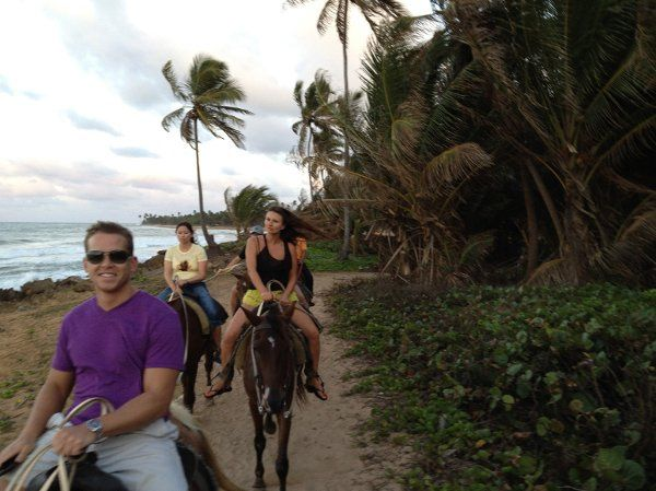 Horseback riding with bonfire and dinner.  Can be created by Itchin 2 Go Travel exclusively for your...