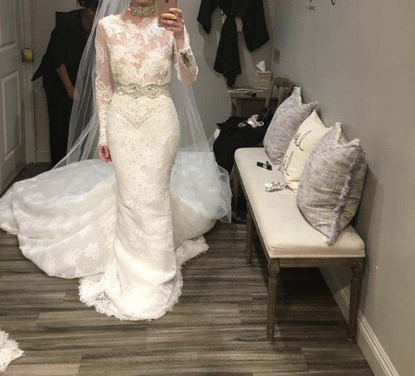 Pronovias designer gown