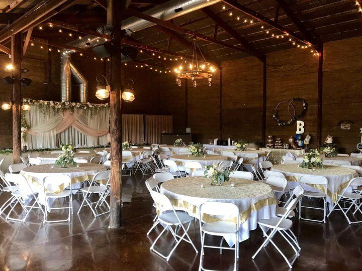 Party Barn Reception