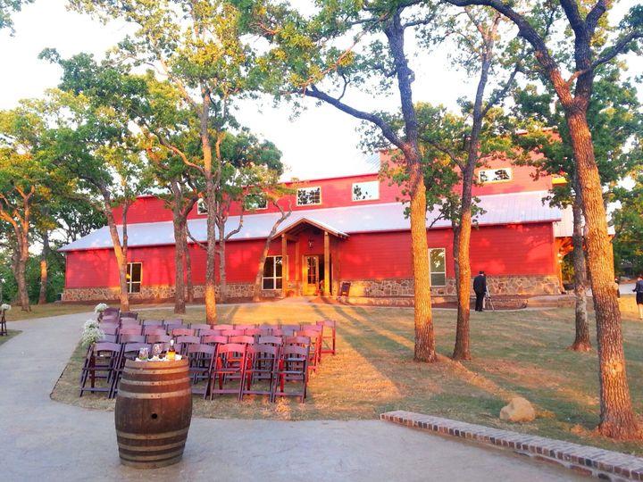 Tmx 1389993733944 Sideviewofweddingbar Springtown, Texas wedding venue