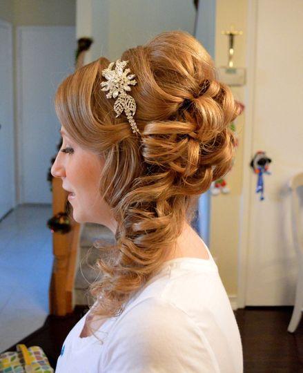 Beautiful blond hair style