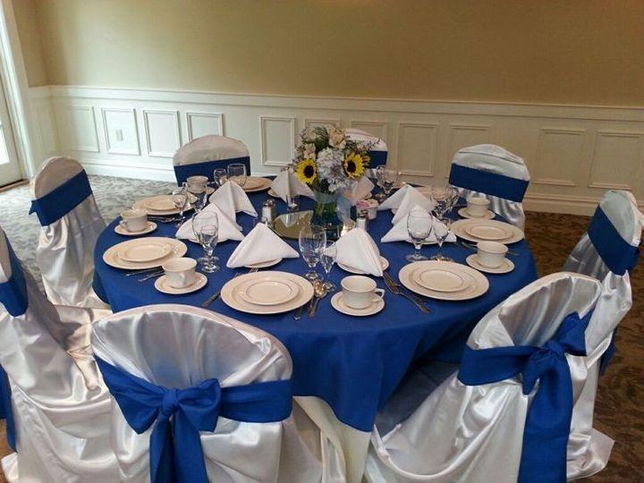 Tmx 1417900238158 Blue And Sunflower Wedding Table Bethlehem, Pennsylvania wedding venue