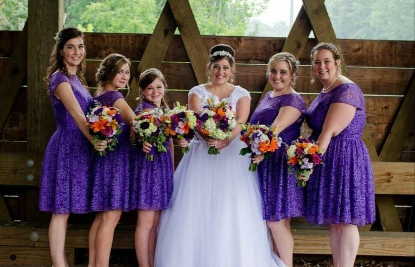 Coordinating bouquets