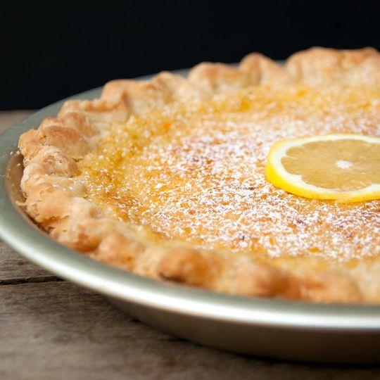 lemon chess pie