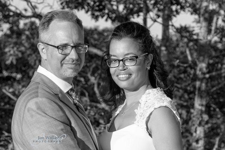 Charles and Susan were married on Mt Battie, in Camden, Maine.