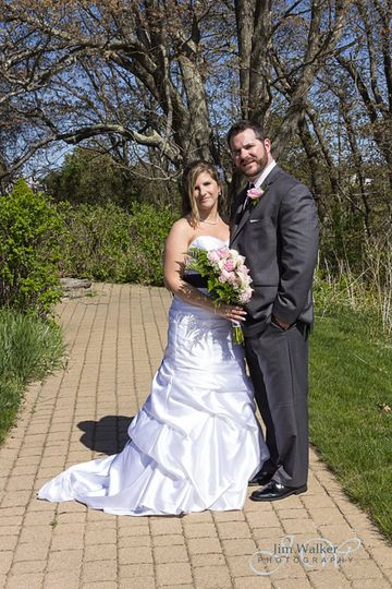 Misty and Jarrod were married on the Beach at Inn By The Sea in Cape Elizabeth, Maine.