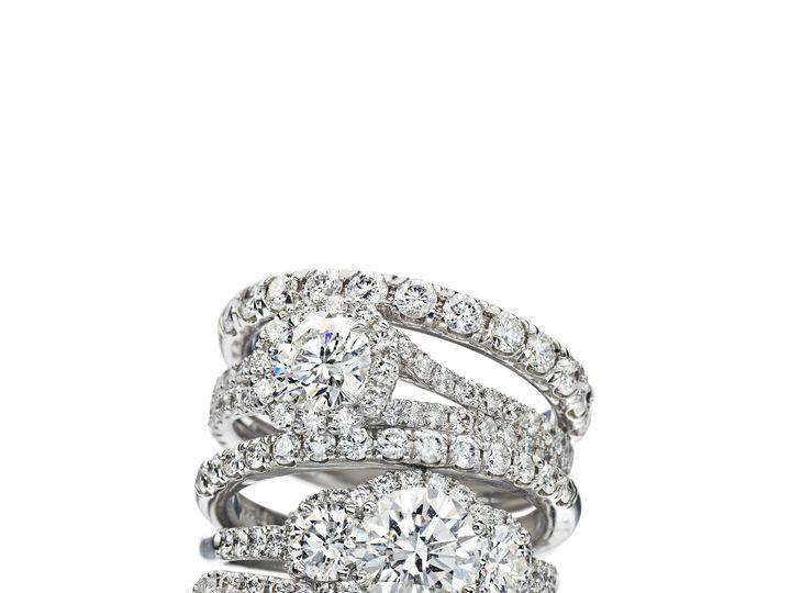 Tmx 1438107095873 Fivediamondsstack24749  wedding jewelry