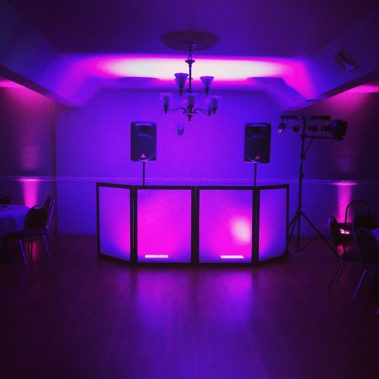 Setup/Uplighting