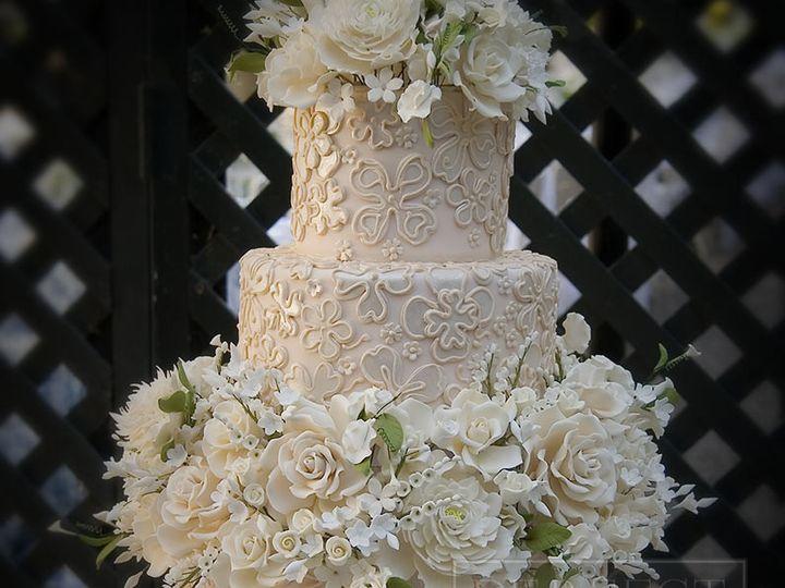 Tmx 1467260728165 Weddings Latticeandflowers 795px Napa wedding cake