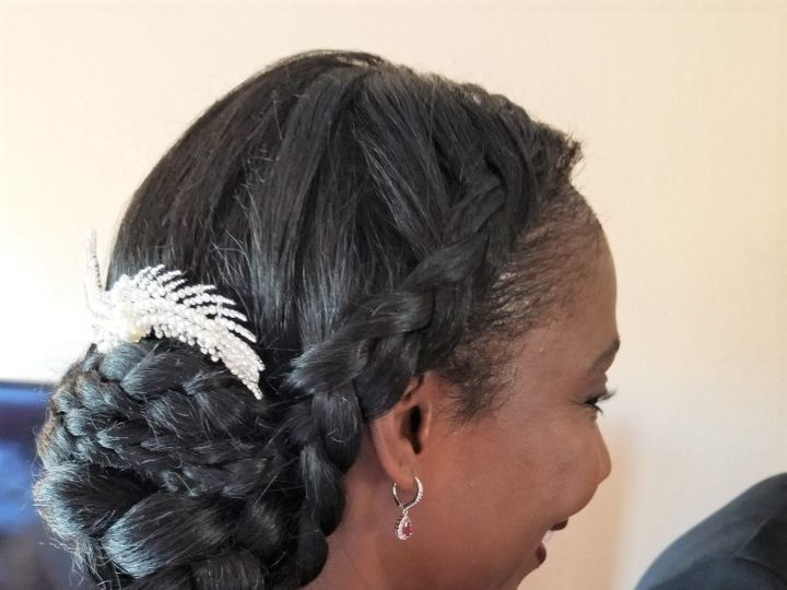 Tmx Joi Brdesmaid With Weave Side Fixed 51 36794 1572556976 Longmont, CO wedding beauty