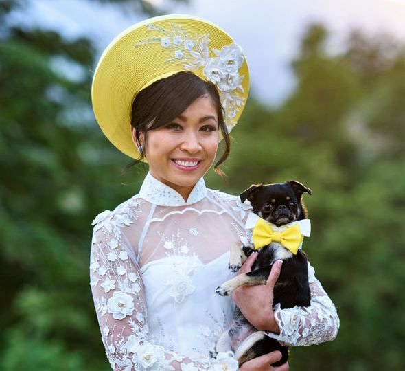 Asian Wedding w pup