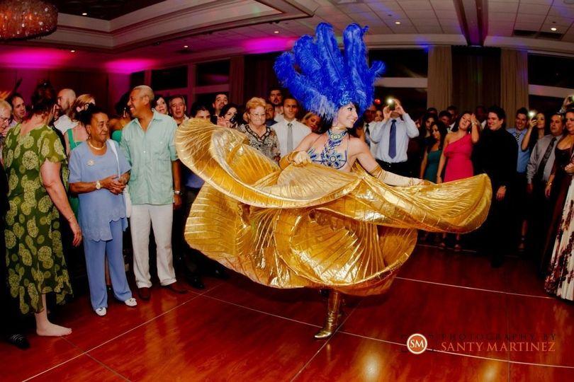 azul bailarina