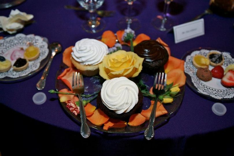Cupcakes for the newly weds