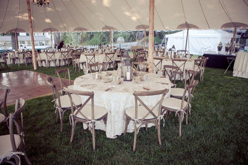 Tent weddings rock!