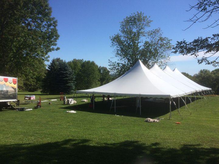 Tent weddings rule for 2021!