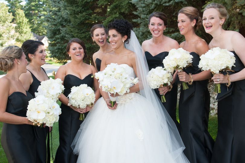 Bride and Bridesmaids Andover