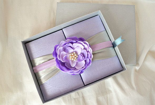 Sweet sixteen, silk/satin box invitations. Customizing the invitations in your color, theme and more...