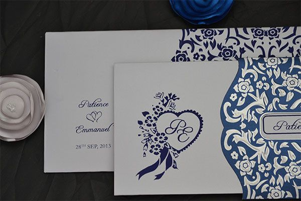 French wedding invitations. Customizing the invitations in your color, theme and more details please...