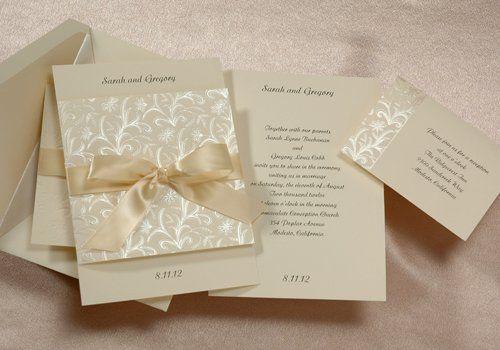 Tmx 1311713538219 E504EC Monrovia wedding invitation