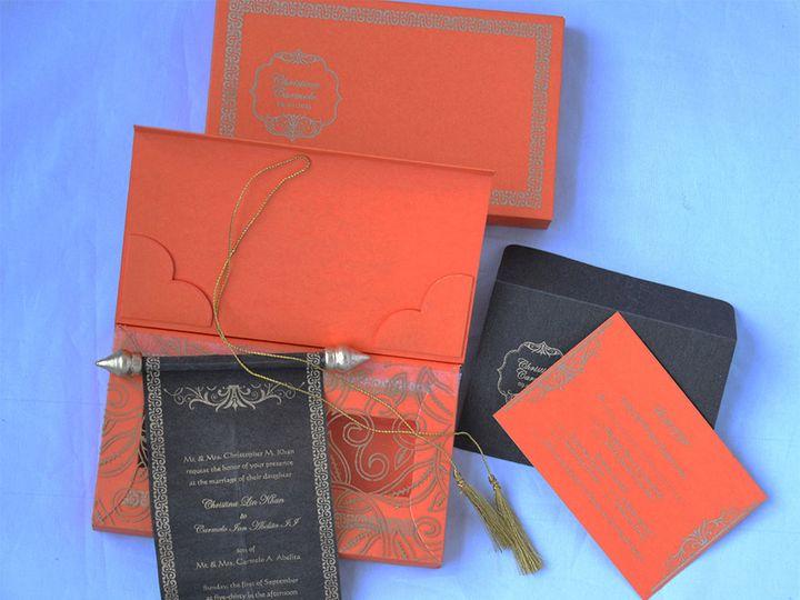 Tmx 1456184311023 Ilfullxfull.516542396gwob Monrovia wedding invitation