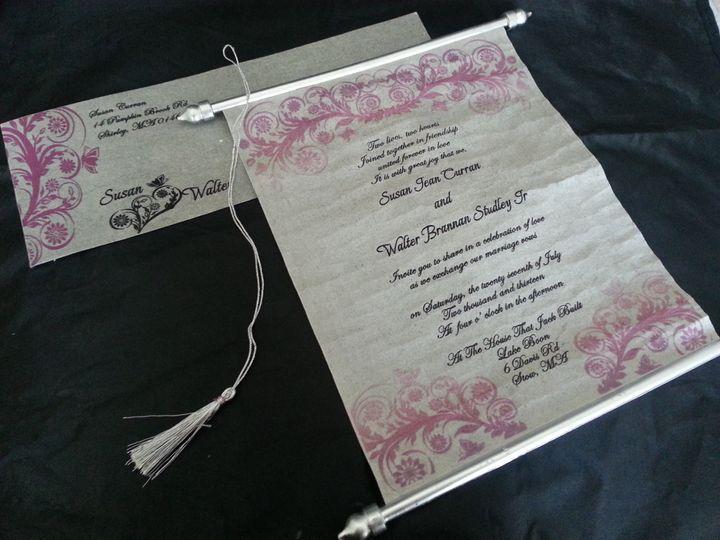 Tmx 1456184327167 Ilfullxfull.5812275323vqe Monrovia wedding invitation