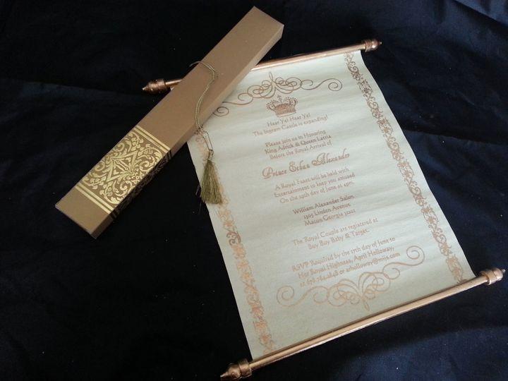 Tmx 1456184337248 Ilfullxfull.46744120610i8 Monrovia wedding invitation