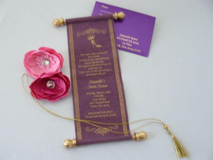Tmx 1456184492799 P1070652 Monrovia wedding invitation