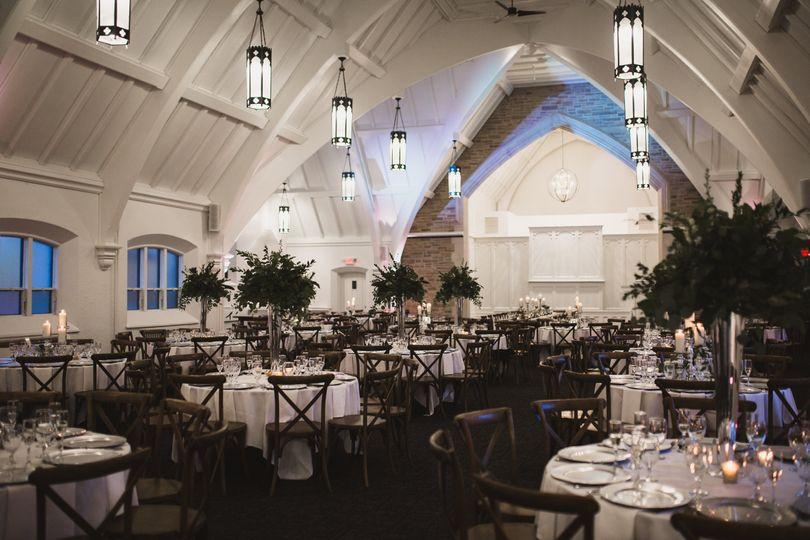 Urban Wedding Reception