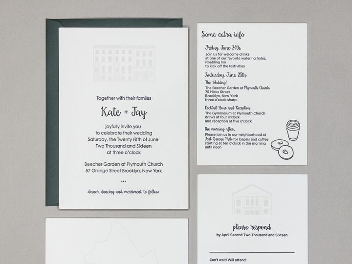 Tmx Kjweddingpic 51 1010894 V1 Brooklyn wedding invitation