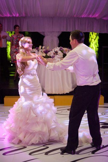 Custom Designed Dance Floor