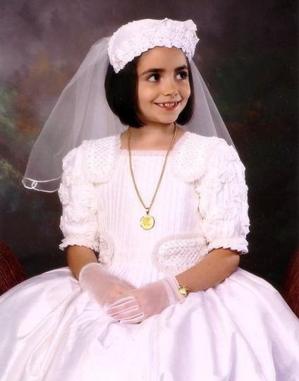 Custom Made Communion Dress and Veil